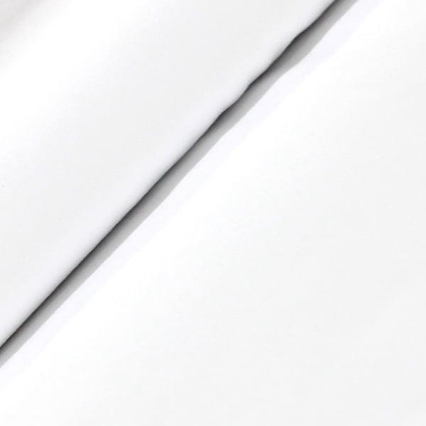 Tecido Tricoline Fio 50  - Tafnes 01 - liso - Branco