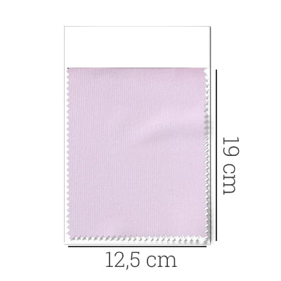 Amostra - Tecido Tricoline Fio 100 - Tot 01 - Liso - Rosa Suave