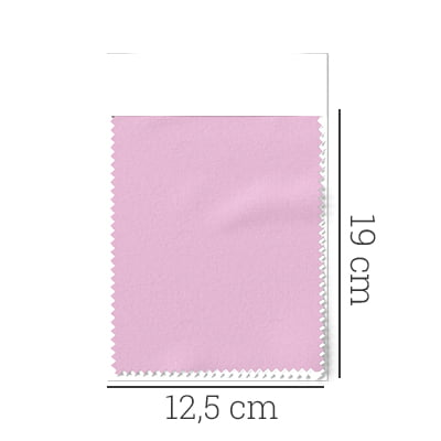 Amostra - Tecido Tricoline Fio 50 - Selkis 02 - Maquinetado - Rosa