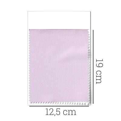 Amostra - Tecido Tricoline Fio 50 - Tinis 02 - Maquinetado - Rosa