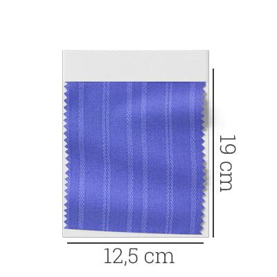 Amostra - Tecido Tricoline Fio 60 - Alexandria 162 - Azul Céu