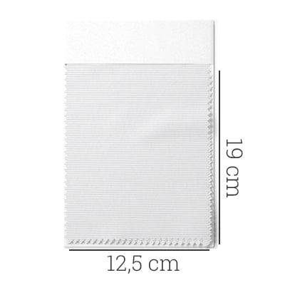 Amostra - Tecido Tricoline Fio 70 - Anit 09 - Listras Micro - Cinza