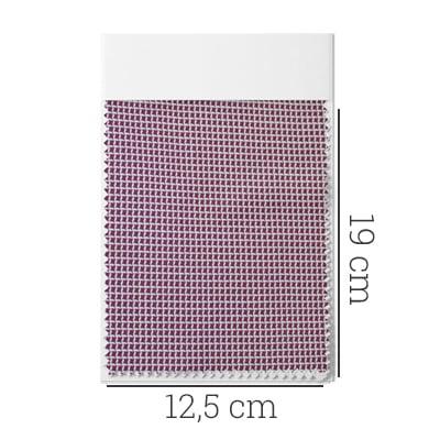 Amostra - Tecido Tricoline Fio 80 - Marssala 05 - Maquinetado - Bordô