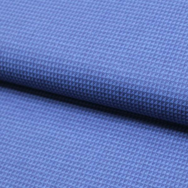 Tecido Tricoline Fio 50 - Trento 03 - Azul Marinho - 100% Algodão