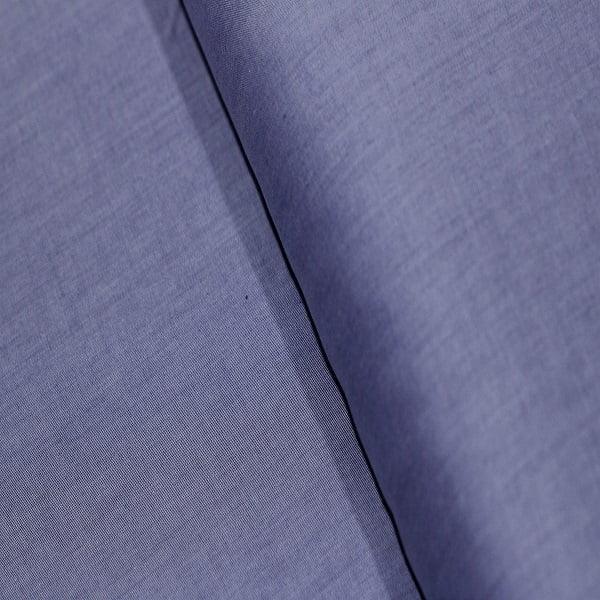 Tecido Camisaria Tricoline Fio 50 - Sais 14 - Liso - Azul Jeans