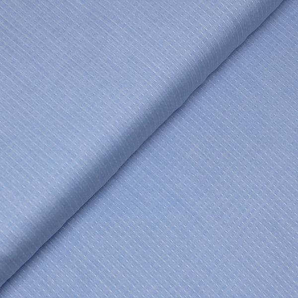Tecido Tricoline Fio 50 - Údine 02 - Maquinetado - Azul Claro