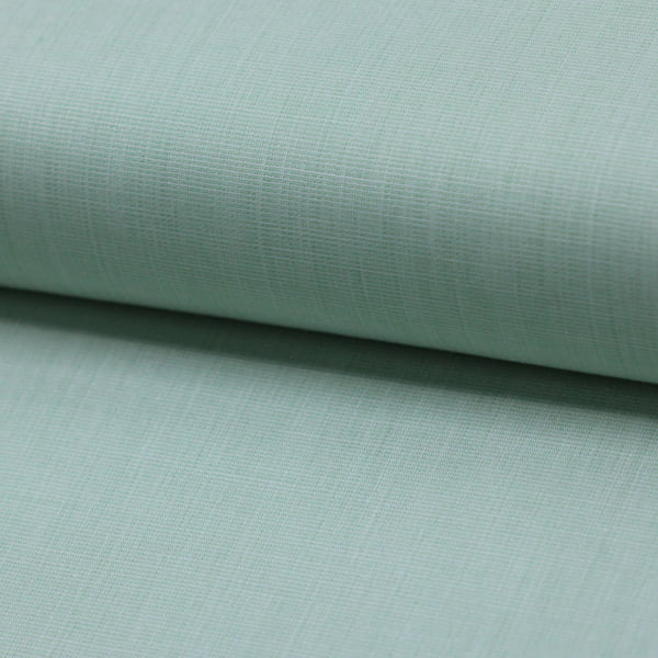Tecido Tricoline Fio 50  - Filas 23 - Liso - Verde Sereno