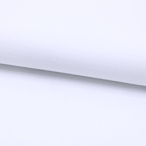 Tecido Tricoline Fio 50  - Siena - Branco - Maquinetado