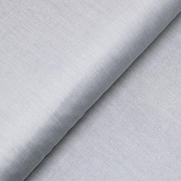 Tecido Tricoline Liso  Fio 50 - Sais 08 - Liso - Cinza