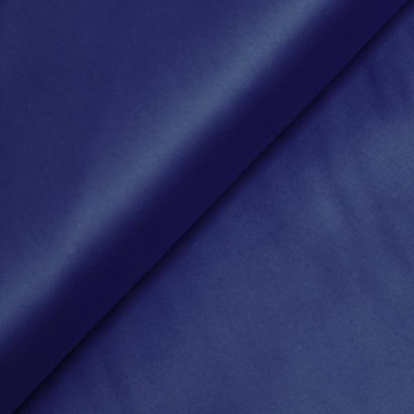 Tecido Tricoline Fio 100 - Luxor 26 - Liso Acetinado - Azul Royal