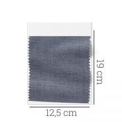 Amostra - Tecido Tricoline Fio 60 - Alexandria 158 - Cinza