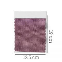 Amostra - Tecido Tricoline Fio 60 - Alexandria 159 - Rosa