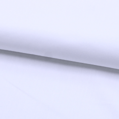 Tecido Camisaria Tricoline Fio 40 - Set - Liso Branco