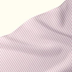 Tecido Tricoline Fio 40 - Fio Tinto Listra M - Rosa - 100% Algodão