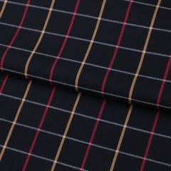 Tecido Tricoline Fio 40 - Xadrez Madras 08 -  Tricoline light 100% Algodão