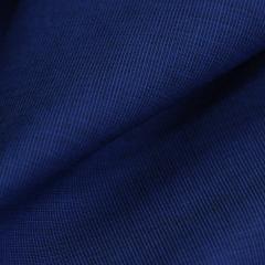 Tecido Camisaria Tricoline Fio 50  - Filas 33 - Liso - Azul Royal - 100% Algodão