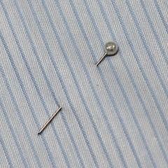Tecido Tricoline Fio 50 - Parma 02 - Maquinetado - Azul Claro - 100% Algodão