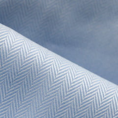 Tecido Tricoline Fio 50 - Veneza 04 - Maquinetado - Azul Claro