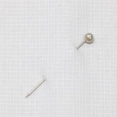 Tecido Tricoline Fio 50 - Prato 01 - Maquinetado - Branco