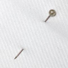 Tecido Tricoline Fio 50 - Selkis 01 - Maquinetado - Branco