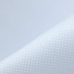 Tecido Camisaria Tricoline Fio 50 - Tebas - Maquinetado - Branco - 100% Algodão