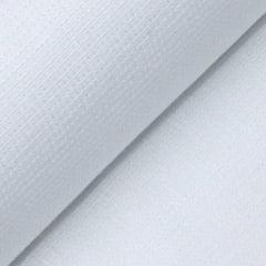 Tecido Tricoline Fio 50 - Tebas - Maquinetado - Branco