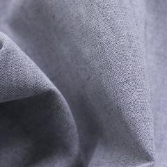 Tecido Tricoline Fio 40  - Neith 01 - Liso - Cinza