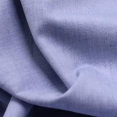 Tecido Tricoline Fio 40 - Neith 02 - Liso - Azul Claro - 100% Algodão