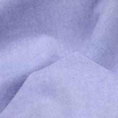 Tecido Tricoline Fio 40  - Oxford 04 - Liso - Azul Claro - 100% Algodão
