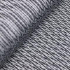 Tecido Tricoline Fio 50 - Veneza 03 - Maquinetado - Preto - 100% Algodão