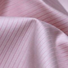 Tecido Tricoline Fio 50 - Parma 01 - Maquinetado - Rosa - 100% Algodão