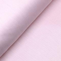 Tecido Tricoline Fio 50 - Veneza 01 - Maquinetado - Rosa - 100% Algodão