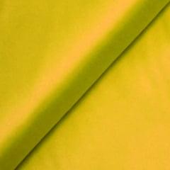 Tecido Camisaria Tricoline Fio 100 - Luxor 22 - Liso Acetinado - Amarelo - 100% Algodão