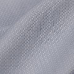 Tecido Camisaria Tricoline Fio 40 - Messina 02 - Azul Claro - Maquinetado - 100% Algodão