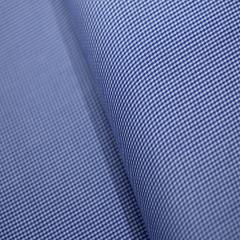 Tecido Camisaria Tricoline Fio 60 - Alexandria 230 - Xadrez P - Azul Royal - 100% Algodão