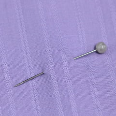Tecido Camisaria Tricoline Fio 60 - Alexandria 160 - Violeta Suave - 100% Algodão