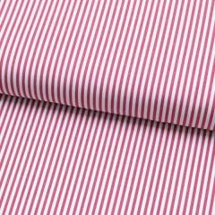 Tecido Tricoline Fio 70 - Anit 07 - Listras - Vermelho