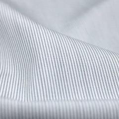 Tecido Tricoline Fio 70 - Anit 09 - Listras Micro - Cinza