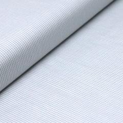 Tecido Tricoline Fio 70 - Anit 03 - Xadrez  Micro - Cinza - 100% Algodão